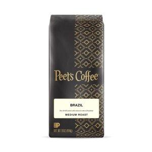 Brazil 中度烘焙咖啡豆 1磅