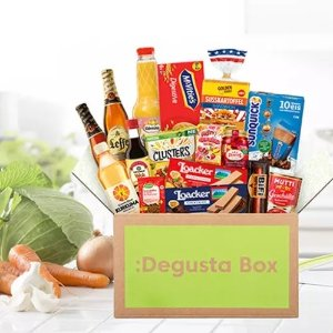5折!€7.99(原价€15.99)Degustabox 惊喜零食盲盒 含10-15种精选品牌食品 物超所值