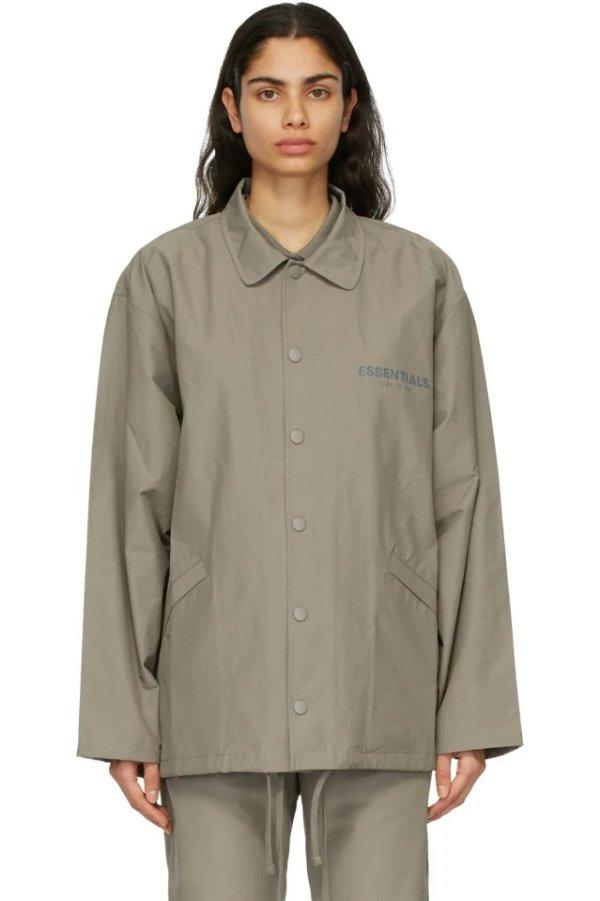 Khaki Logo 夹克外套