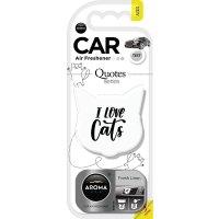 Aroma Car 猫咪造型 Fresh Linen味车香