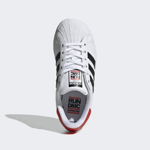 Originals Superstar Run-DMC 儿童休闲鞋