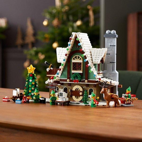 Lego 2020圣诞限定 Elf Club House精灵俱乐部