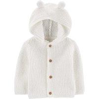 婴儿连帽针织衫,3色选