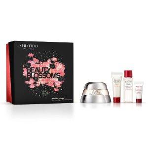 Shiseido6折!抢!百优面霜套装