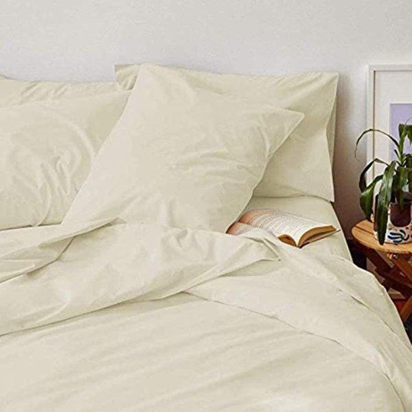 Swastha Linen 有机纯棉床品套装