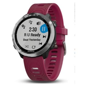Garmin Forerunner 645 Music, GPS Running Watch with Garmin Pay