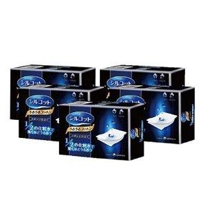 £2.2/盒 40片装白菜价:尤妮佳1/2省水化妆棉 从今以后化妆水不再浪费