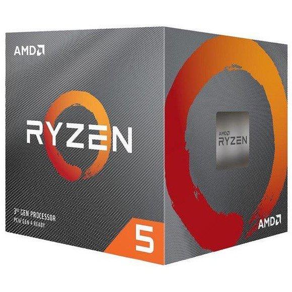 AMD RYZEN 5 3600X 6核 AM4 95W 7nm Zen2架构处理器