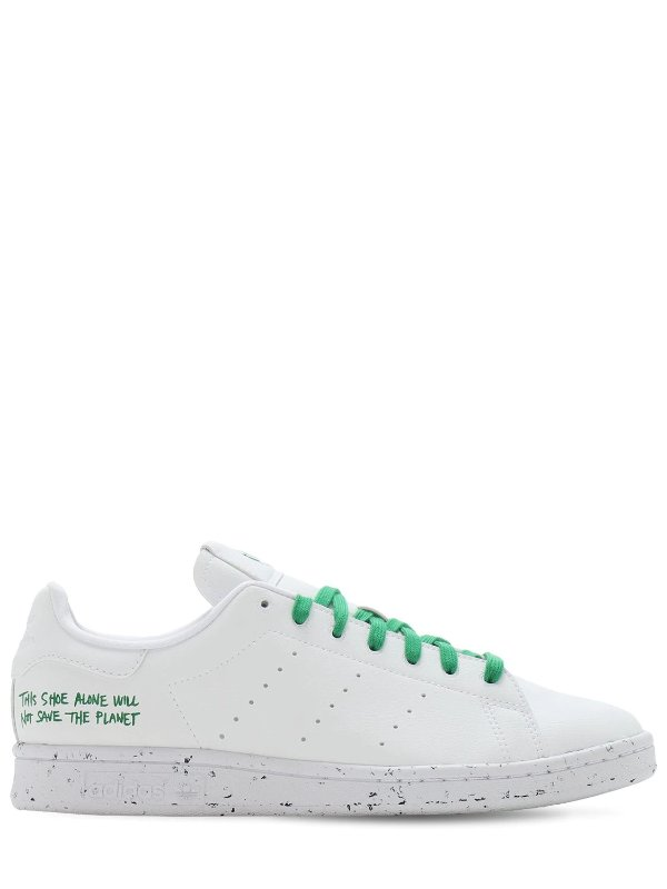 STAN SMITH 绿色鞋带小白鞋