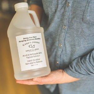 Liquid Hand Sanitizer ½ Gallon — Casey Jones Distillery