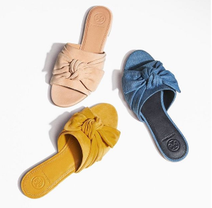 4bde7fa80344 Slide Sale   Tory Burch Up To 60% Off + Extra 25% Off - Dealmoon