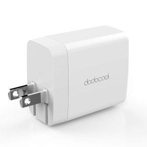 $8.99 包邮 美亚五星好评快充3.0 USB壁式充电器2端口4.8A,带可折叠插头