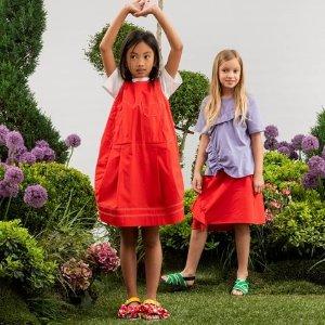 低至8折+满额额外7.5折Marni童装年中大促 用缤纷的色彩点亮童年