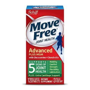 Move FreeBuy 1 Get 1 Free + Extra 15% OffSchiff Move Free Bone & Joint Supplement, Glucosamine Chondroitin + MSM, Tablets | Walgreens