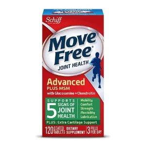 Move FreeMSM止痛 绿瓶维骨力 120粒