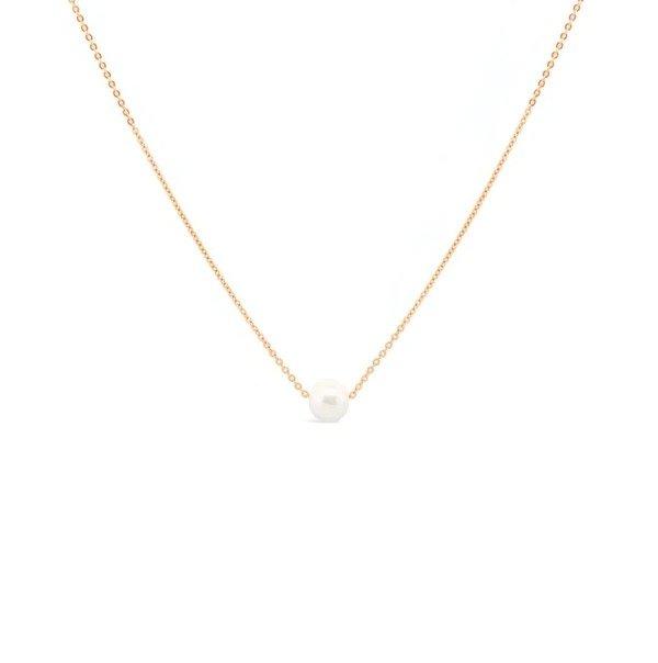 珍珠金项链
