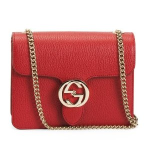 $1199.99Leather Interlocking Bag @TJ Maxx