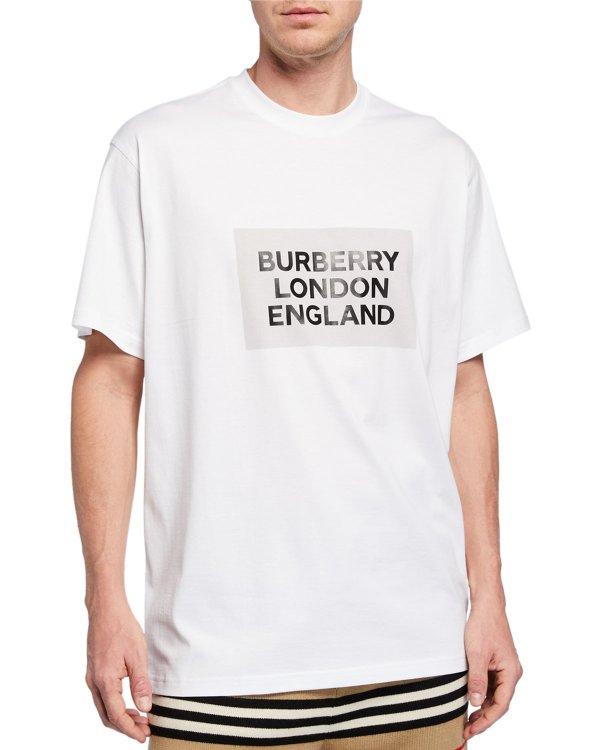 Men's Oversize Logo T恤