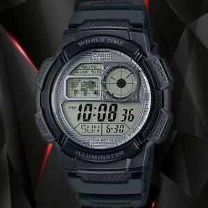 8折 $24(原价$29.99)白菜价:Casio 男士 AE-1000W-1AVCF 树脂运动手表