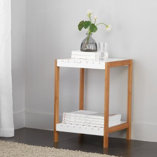 $17.86Mainstays Bamboo 2 Tier Shelf End Table