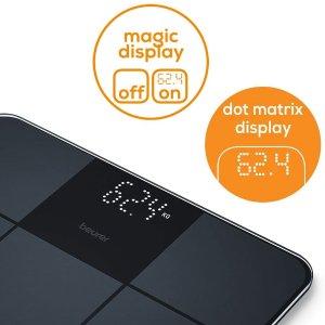 €15.34 原价€30.99Prime Day 狂欢价:Beurer GS 235 玻璃电子秤 哑光材质防滑表面 自动开关