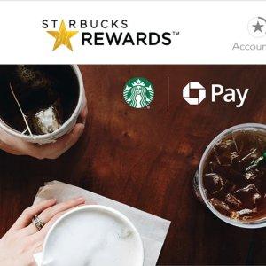 看歪果仁怎么点出$150的 Free Drink即将截止 大通Pay支付星巴克到店消费 赢300星星
