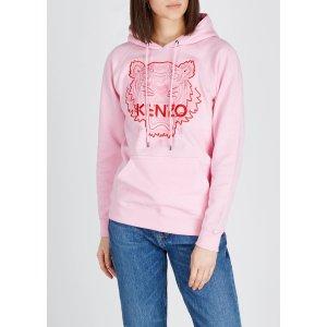 Kenzo美国定价$325粉色虎头卫衣
