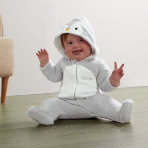 My 1st Years20% Off for $100+Personalized Penguin Fleece Onesie