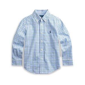 Ralph Lauren Childrenswear小童格子衬衫