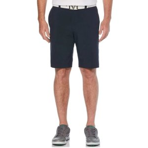 Mens Solid Stretch Short