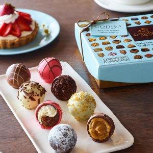 满额享8折 收2020圣诞日历Godiva 全场巧克力礼盒促销,低门槛包邮