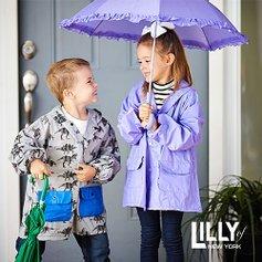 低至$6.99LILLY of NEW YORK 儿童雨衣特卖 玩水必备