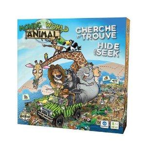 2岁+Editions Gladius动物世界纸牌游戏