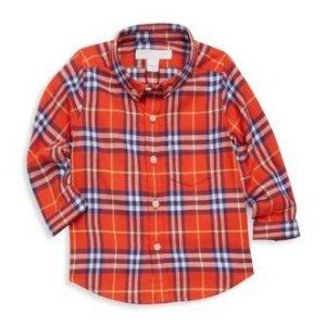7折 $35起上新:Burberry 儿童服饰促销区热卖