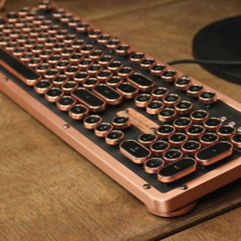 低至£23 享受打字过程复古打字机键盘 高颜值高手感 在家办公格调满满
