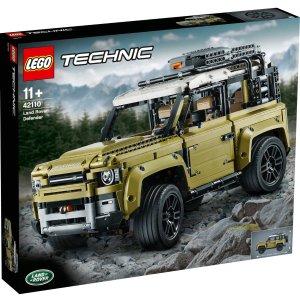 Lego史低价!路虎卫士 42110
