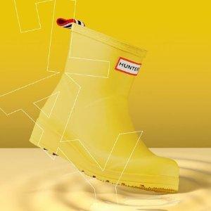 5折收 高质感雨衣,围巾仅$15Hunter 儿童雨衣 雨靴 小机灵鬼 雨天必备 新品加入