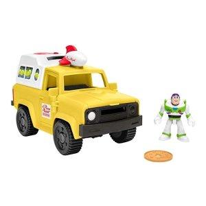 $7.49(原价$15.99)史低价:Fisher-Price 玩具总动员主题玩具套装,两款可选