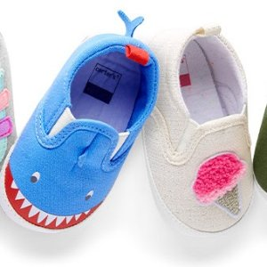 50% Off + Extra 25% Off $40+Ending Soon: Carter's Kids Shoes President's Day Sale