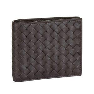 Bottega Veneta美国官网定价$490男士编织钱包