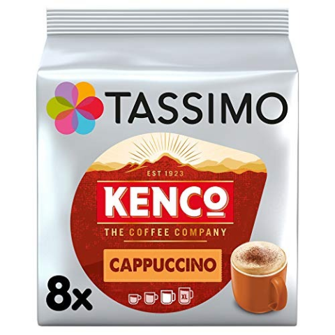 低至6折 Kenco 白咖啡£0.35/杯补货:Tassimo 精选咖啡、热饮胶囊闪促 宅家享受浓香时刻