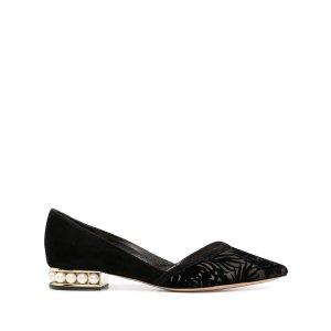 Nicholas Kirkwood珍珠平底鞋