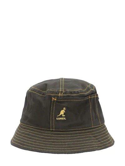墨绿色渔夫帽