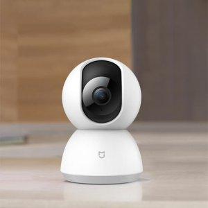 $51.63(原价$110.69)小米 米家智能安防1080P 摄像头 360度拍摄 带夜视仪
