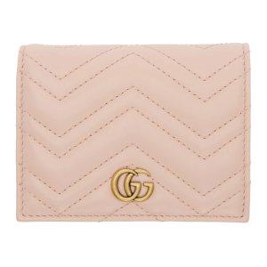 Gucci粉色小钱包