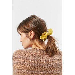 Scarlett Patterned Bow Scrunchie