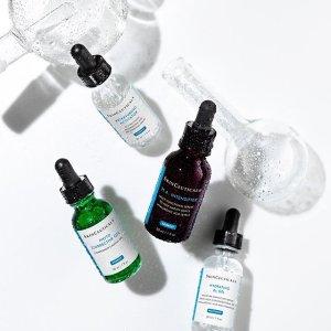 $48收物理防晒+无门槛免邮上新:Skinceuticals 修丽可节日礼盒 收色修精华套装 敏感肌必备