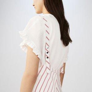 RABANO 条纹吊带裙