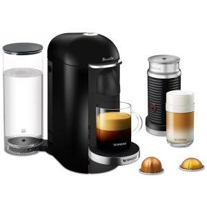 $174.99 Nespresso by Breville VertuoPlus Deluxe Coffee & Espresso Machine with Aerocinno3