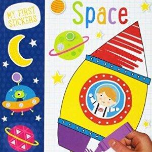 太空贴纸书